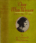 Dear Miss Weaver front cover