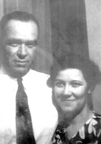 Photo of Elmer Edwin Lidderdale and second wife, Josephine